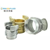 Buy cheap Liquid FEMALE Guillemin Coupling Hypalon Main Gaskets With Cap Dust Plug from wholesalers