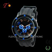 Buy cheap Better quality  cool big face and color customized dial silicone watches men for sport from wholesalers