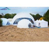 Buy cheap Large Geodesic Event Dome Tent for Outdoor Party Events with Hot Galvanized steel tube from wholesalers