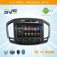 Buy cheap Android 4.4 car dvd player GPS navigation for Opel Insignia with RDS GPS wifi 3G OBD TPMS from wholesalers