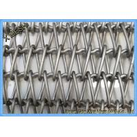 Buy cheap Inconel 601 Metal Wire Mesh Spiral Conveyor Belt For Semiconductor Transportation from wholesalers