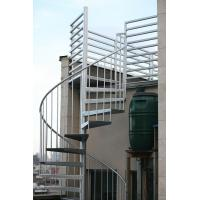 Buy cheap Duplex use spiral staircase with stainless steel railing design product