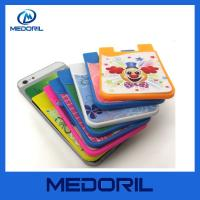 Buy cheap Manufacturer custom cheap small silicone cell phone smart card wallet from wholesalers