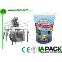 Buy cheap Zipper Pouch Packing Machine / Premade Pouch Filling Sealing Machine  from wholesalers