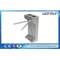 Buy cheap Durable Security Tripod Turnstile Gate , Auto Barrier Gate for Library from wholesalers