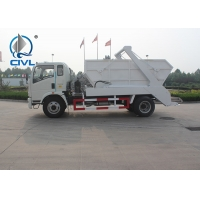 Buy cheap Arm Swing Waste Collection 6 Cbm Garbage Compactor Truck from wholesalers