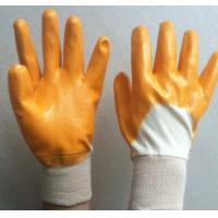 Buy cheap Light Industiral working nitrile coated gloves, product