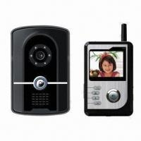 Buy cheap Weatherproof Wireless Video Intercom with Built-in Backup Battery and RFID Card Readers Features from wholesalers