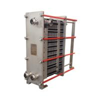 Buy cheap NBR Gasket Stainless Steel Plate Heat Exchanger Low Energy Consumption Small Size from wholesalers