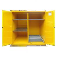 Buy cheap Fire Prevention Drum Storage Cabinets Special Double Layer Sheet Steel Design product