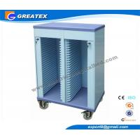Buy cheap Custom Medical Trolley Clip Holding Cart Patient Record Trolley Double Rows from wholesalers