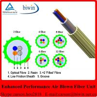 Buy cheap Enhanced Performance Air Blowing 2 Core Fiber Optic Cable from wholesalers