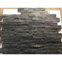Buy cheap Hottest Natural Stacked Stone, Wall cladding stone, Black Quartzite Ledgstone Tiles from wholesalers