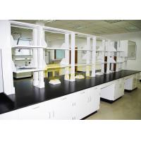 Buy cheap Slab Black epoxy resin laboratory countertops corrosion resistance for university from wholesalers