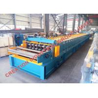 Buy cheap Galvanised Steel Floor Decks Rollforming Production Line with Hydraulic Cr12 Mould Steel Cutter from wholesalers