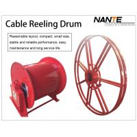 Buy cheap Vertical IP65 380v / 440v Cable Reeling Drum With Red Surface Customized product