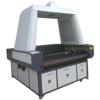 Buy cheap Advertising Use Flag CCD Camera Laser Cutting Machine Printed Fabric Banner from wholesalers