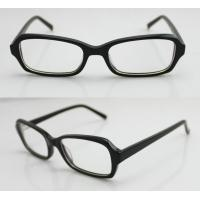 Buy cheap Classic Lightweight Acetate Mens Eyeglasses Frames for Promotion 50-16-135mm product