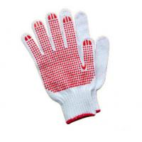Buy cheap Two Sides Pvc Dotted Gloves Breathable For Aerospace / Automotive Industry from wholesalers