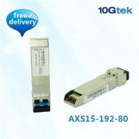Buy cheap SFP+ 10GBase-ZR 1550nm 80KM (SFP-10G-ZR) product