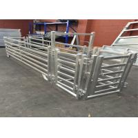 Buy cheap Interpon Powder Coated RAL 6005 USA Livestock Fence Panels 6ft X 10ft from wholesalers
