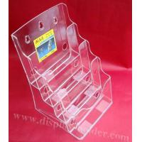 Buy cheap Plastic Acrylic Brochure Stand Rack from wholesalers