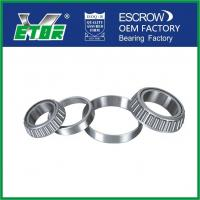 Buy cheap High Temperature Taper Rolling Bearing , Tapered Wheel Bearing Anti Friction from wholesalers