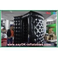 Buy cheap Black Strong Oxford Cloth Photo Booth , Gaint Inflatable Cube Photo Booth product