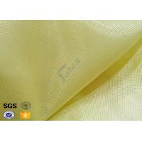 Buy cheap Industrial Workwear Metal Kevlar Woven Fabric 250GSM Flame Retardant from wholesalers