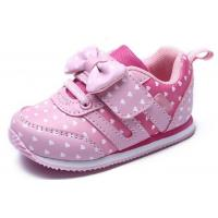 Buy cheap Soft Bottom Pink Little Kids Shoes Baby Girl Shoes Breathable EUR 21-25 Size from wholesalers