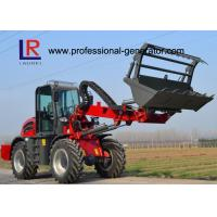 Buy cheap 4-wheel Drive Heavy Construction Machinery With 3 Ton Load / 1.5 SQM Bucket from wholesalers