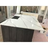 Buy cheap Popular Quartz Stone Countertops With Veins 400 Kinds Colors Optional from wholesalers
