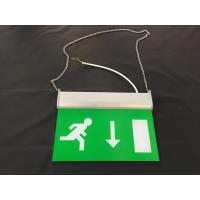 Buy cheap 3 Hours Operation Rechargeable LED Double Side Emergency Exit Sign from wholesalers