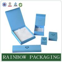 Buy cheap Custom Size Sky Blue Jewelly Case , Grazioso Cardboard Box for Jewelly Box product