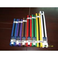Buy cheap Courful martial arts belts taekwondo colour belts with Embroidery from wholesalers
