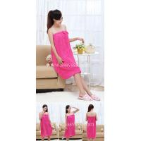 Buy cheap Magic bath dress/towel with bowknot from wholesalers