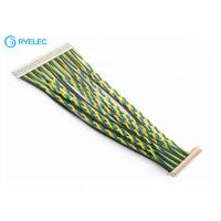 Buy cheap 30 Pin LVDS Cable Assembly DF14-30S-1.25C To Hirose DF13-40P Lcd Connector Loom With UL1061 from wholesalers