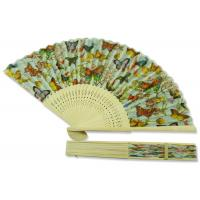 Buy cheap 21cm Butterfly Pattern Foldable Hand Fan Decorative France Style Wedding Decoration product