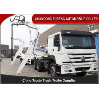 Buy cheap 40ft Side Loader Trailer Loading Capacity 40 Tons FUWA 13 Ton Axle from wholesalers
