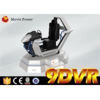 Buy cheap Great Experience VR Racing 9D Simulator With Attractive Design One Year Warranty product