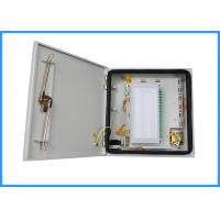 Buy cheap 48 Cores LC Duplex Fiber Optic Enclosures Wall Mount For Fiber Connections from wholesalers