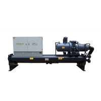 Buy cheap CE Water Cooled Screw Chiller , Carrier Air Cooled Screw Chiller Semi Hermetic from wholesalers