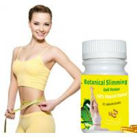 Buy cheap Botanical Slimming gold version capsule 100% Original softgel Weight Loss Supplements from wholesalers