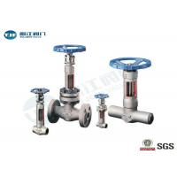 Buy cheap Bellow Seal Gate Valve Forged Carbon Steel / Stainless Steel Made Class 300 from wholesalers