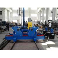 Buy cheap Hydrulic Fit Up Welding Rotator , Pipe Stand Rollers , Auto Welding Steel Pipe Rollers from wholesalers