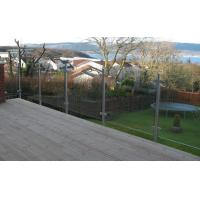 Buy cheap Discount Stainless Steel Posts Clamp Railing Systems Glass Balcony Balustrade from wholesalers