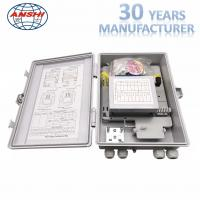 Buy cheap 24 Core Waterproof Junction Box , Insert Type Splitter Outdoor Terminal Box from wholesalers
