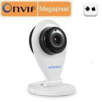 Buy cheap Sricam Wi - Fi Indoor Onvif Network Mini Nanny Camera Megapixel HD Camera - White from wholesalers