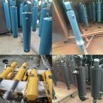 Buy cheap Komatsu Volvo Hitachi Hydraulic Cylinder Steel Body Material Non Standard from wholesalers