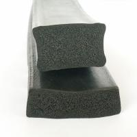 EPDM rubber extruded 3M adhesive backed foam seal strips for wooden door